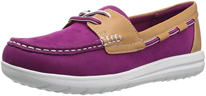 Clarks Wouomo Jocolin Vista Boat scarpe, Deep Fuchsia Synthetic, 9.5 Medium US | Ad un prezzo inferiore  | Uomini/Donne Scarpa
