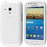 deinphone en silicone pour Samsung Galaxy S3Mini Blanc