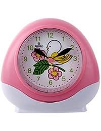 Horo Metallic Pink Kids Alarm Clock 10.9x5.2x10.9cm