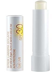Lepo–Stick Solaire Lèvres SPF 30, de protection, vellutante, Nutritive.