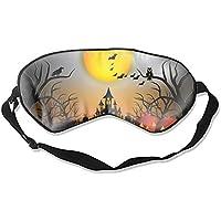 Schlafmaske für Halloween, Night, Naturseide, mit verstellbarem Riemen preisvergleich bei billige-tabletten.eu