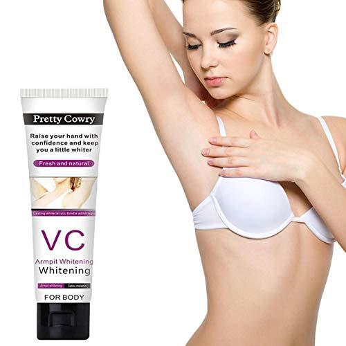 Natural Whitening Cream, Crème Deodorant und gegen Schwitzen Geeignet Achselhöhle/Innenschenkel / Ellenbogen/Knie / Gesäß Nippel...