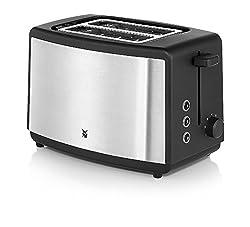 WMF BUENO Edition Toaster Doppelschlitz Brötchenaufsatz 7 Bräunungsstufen 800 W Edelstahl matt