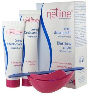 BIOES : NETLINE Crème décolorante duvets sombres 60ML