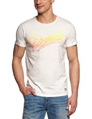 JACK & JONES Herren T-Shirt Slim Fit 12066565 Gradient