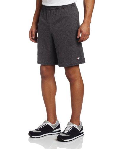 Champion -  Pantaloncini sportivi  - Uomo Grigio scuro