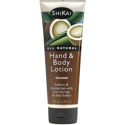 shikai-coconut-hand-and-body-lotion-8-ounce-6-per-case-by-shikai