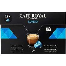 Café Royal Lungo - 33 Capsules Compatibles avec le Système Nespresso®*