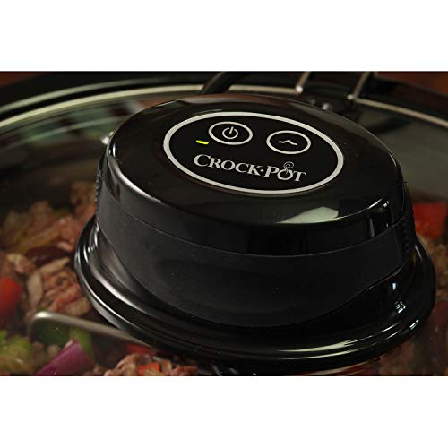 Crock-Pot AutoStir CSC012X Olla de cocción lenta 240 W, 5.7 litros, 1 Decibeles, Inox