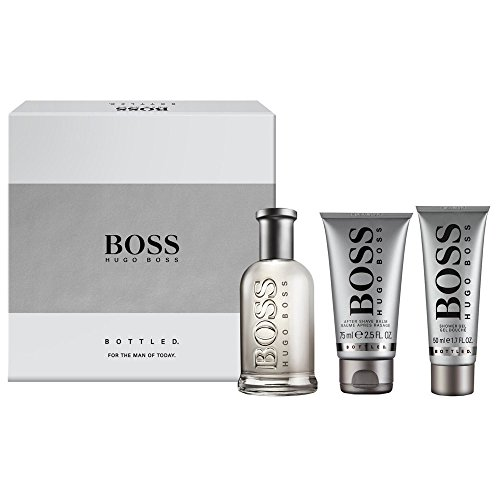 HUGO BOSS BOSS BOTTLED EDT 100 ML + A/S BALM 75 ML + S/GEL 50 ML SET REGALO (precio: 75,00€)