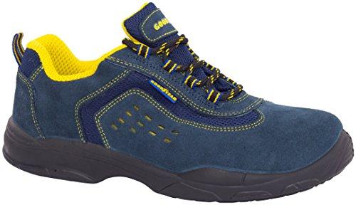 Goodyear G138843C-Stiefel (Wildleder), Blau, blau, G138843C (Goodyear-stiefel)