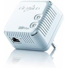 Devolo dLAN 500 WiFi, Prise Réseau CPL WiFi (500 Mbit/s, 1x Adaptateur, 2x Ports Fast Ethernet, Amplificateur WiFi, Augmenter Portée Wifi, Courant Porteur,WiFi Move) - Module Complémentaire, Blanc