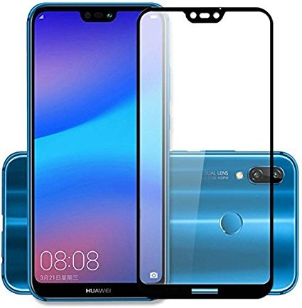 Huawei P20 Lite Original Premium Huawei P20 Lite Premium Tempered Glass Black,2.5D Hardness, Ultra Clear Shatter Proof, 9H Stains Coating For Huawei P20 Lite Original Premium Huawei P20 Lite -BY Canyon™