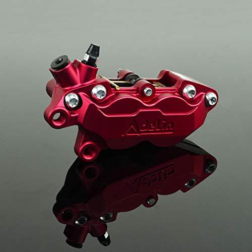 Rapide Pro Étrier de Frein pour Moto Coque Protection pour Moto de Course avec Hf-6 à Coulisse Rouge