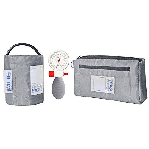 MDF® Airius® Palm Aneroid Blutdruckmessgerät - Professionelles Blutdruckmessgerät - Grau (MDF848AR-12) -