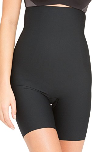 deluxe-spanx-slimming-shapewear-thinstincts-high-waisted-mid-thigh-shorts-very-black-large