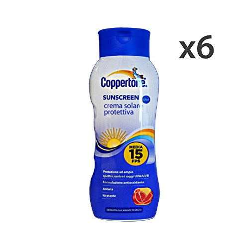 set-6-coppertone-fp15-sunscreen-200-ml-prodotti-solari