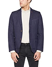 TOM TAILOR Herren Anzugjacke Fancy Structure Blazer