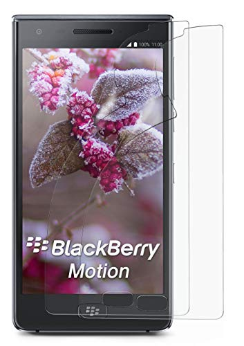 2X BlackBerry Motion   Schutzfolie Matt Bildschirm Schutz [Anti-Reflex] Screen Protector Fingerprint Handy-Folie Matte Bildschirmschutz-Folie für BlackBerry Motion Bildschirmfolie