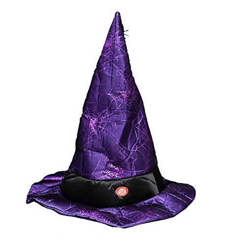 chen und Bewegen Hut Halloween Dekoration Requisiten Kostüm Ostern Show Hexenhut (Halloween Requisiten Bewegen)