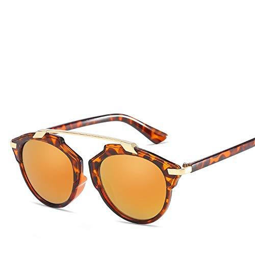 Top Shishang Modische Damen UV400 Sonnenbrillen, die über Normale Brillen für Damen passen.Ideal zum Fahren, Radfahren, Sport, Gelb