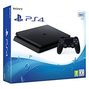 PlayStation 4 – Konsole (500GB, schwarz,slim) [CUH-2016A]