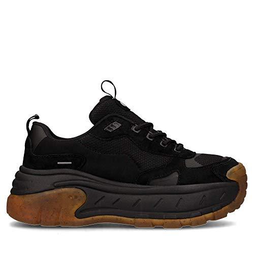 COOLWAY Rex, Zapatillas Mujer, Negro Nvbk 001, 38