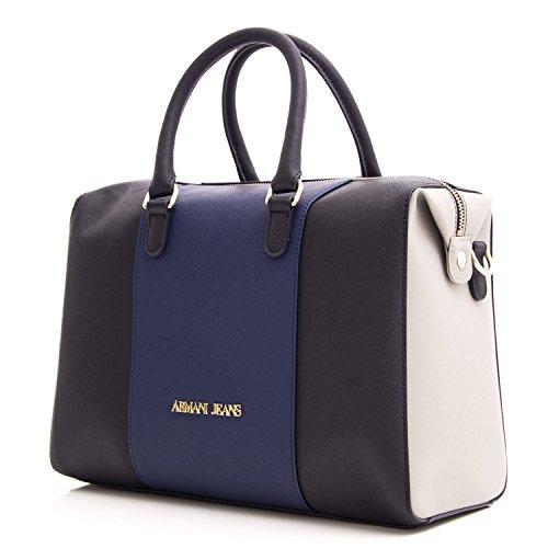 Armani - 922542CC857, Borsa con Maniglia Donna Blue scuro