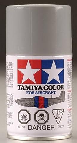Tamiya 86507 AS-7 Spray Neutral Gray (USAAF) 3 oz by Tamiya Paints