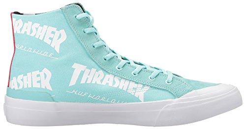 HUF , Chaussures de skateboard pour homme bleu menthe Menthe
