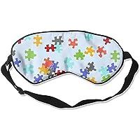 Sleep Eye Mask Autism Puzzle Lightweight Soft Blindfold Adjustable Head Strap Eyeshade Travel Eyepatch E14 preisvergleich bei billige-tabletten.eu