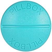 Alokie Pillendose mit 4 Fächern WASSERDICHT Rund Tablettenbox für unterwegs Pillenbox preisvergleich bei billige-tabletten.eu