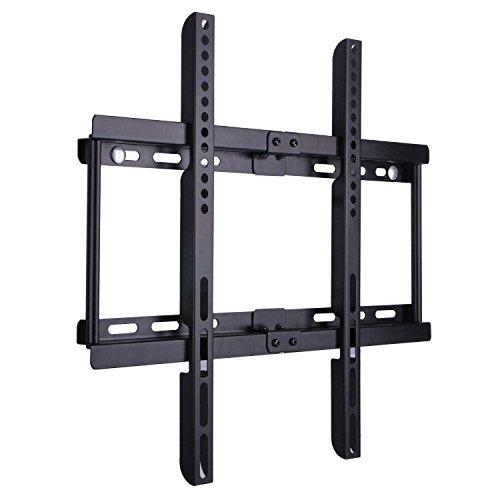 BPS Soporte para TV pared de Televisor 32-55 Pulgadas de Pantalla Plana(LED LCD Plasma 4K 3D) Máx Vesa 400x400, Hasta 50kg, Negro, con Nivel de Burbuja