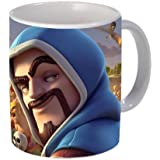 Wizard Clash Royal Game Cartoon Coffee Mug For Birthday Kids - Ceramic Mugs Cup - 350 Ml