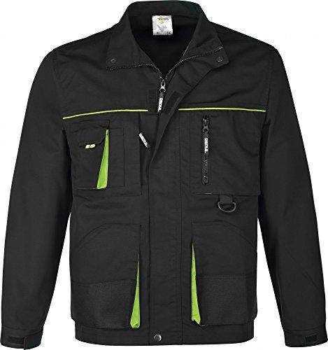 Arbeitsjacke schwarz/grün (XL)