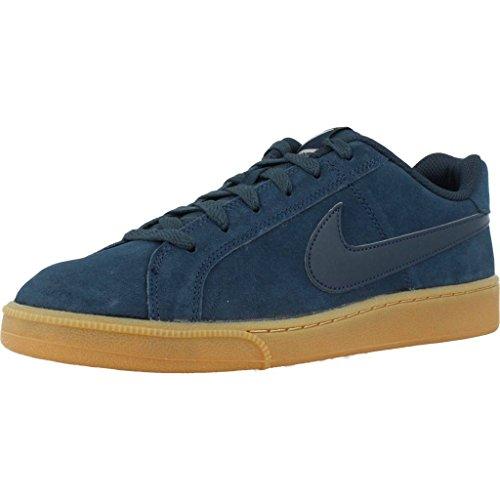 Sneaker Blu Nike Mens Court Royale In Suede Blu