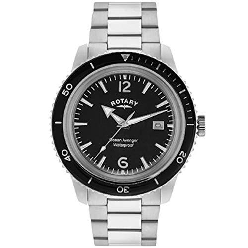 Rotary Herren - Armbanduhr Ocean Avenger Analog Quarz GB02694/04