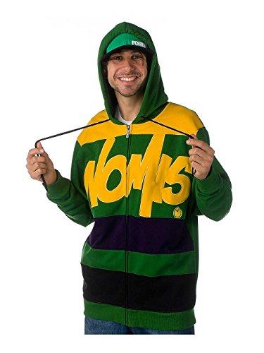 Nomis Herren Hoody Tony, Aspen Green, XLT, 38105 - Aspen Green
