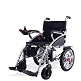 JOSN Electric Wheelchair Fda Approved Transport Friendly Lightweight Folding Adult Electric Wheelchair (black)