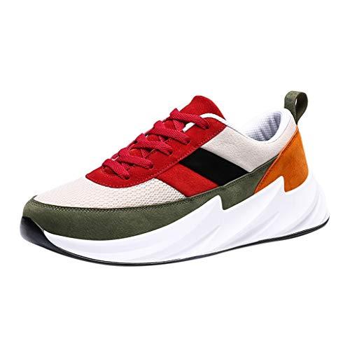 RYTEJFES Warme Männer Freizeitschuhe Atmungsaktive Männliche Schuhe Turnschuhe Luftpolster Flache Freizeit Trainer Knöchel Zapatos Sportschuhe