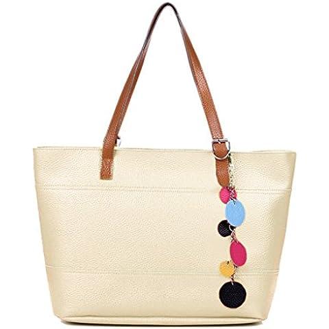 Las mujeres Tote - All4you moda cuero lindo bolso bolso Shopper bolsa