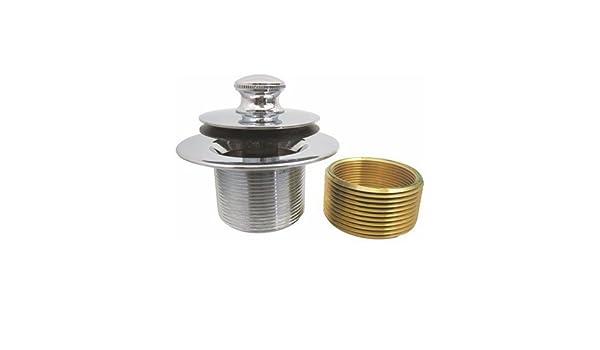 Tappo Vasca Da Bagno In Inglese : Ips push pull tappo per vasca da bagno con boccola cromato