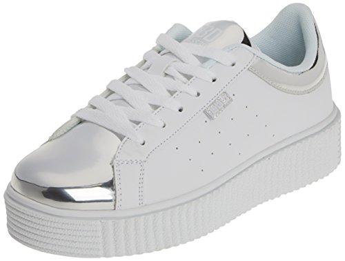bass3d Damen 041271 Sneaker Silber