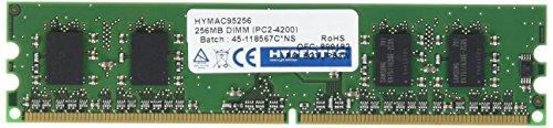 Hypertec HYMAC95256256MB DIMM, PC2-4200, entspricht Acer-Arbeitsspeicher) -