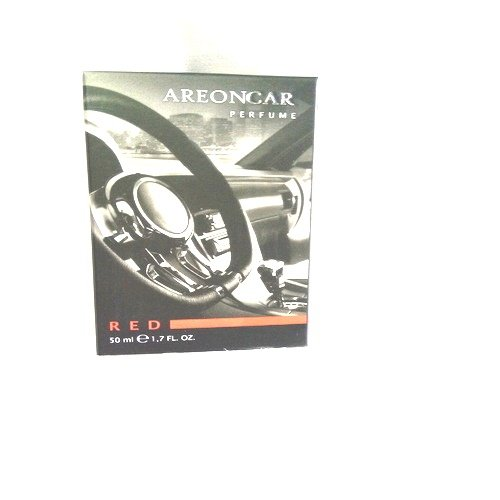 Areon Profumo per auto Lusso Deodorante Flacone (Rosso 50ml)