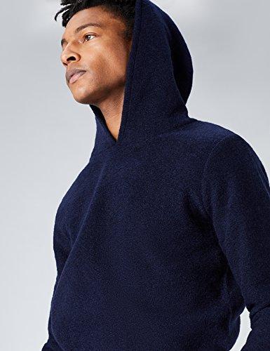 FIND Hoodie Herren aus Wollmix Blau (Navy)