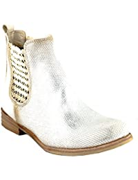 63e10be91 Felmini - Zapatos para Mujer - Enamorarse com Alfa A131 - Botines Classic -  Cuero Genuino