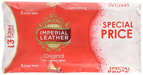 Imperial Leather Red - Ivory Soap - 1 pack of 3 soaps
