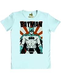 Batman Poster - Traktor - Vintage SLIMFIT T-Shirt XS-XXL