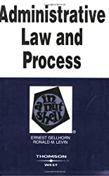 Administrative Law and Process in a Nutshell, 5th (Nutshell Series)